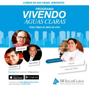 Programa Vivendo Águas Claras - Bolos do Flávio